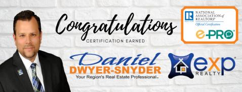 Copy of ePro Certified Daniel Dwyer-Snyder